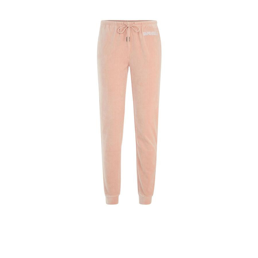 Pantalon rose clair caprichiz;${refinementColor}