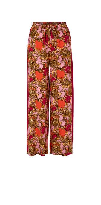 Różowe spodnie barokeiz różowy.