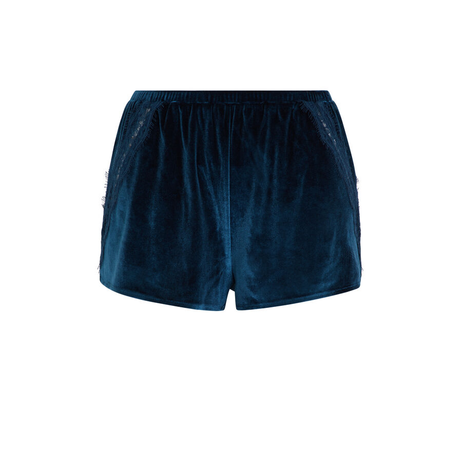 Velcroisiz teal shorts;