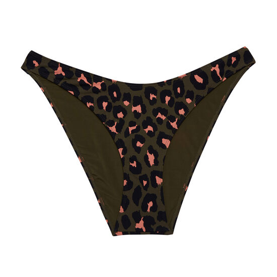 Animaliz khaki swimsuit bottoms;