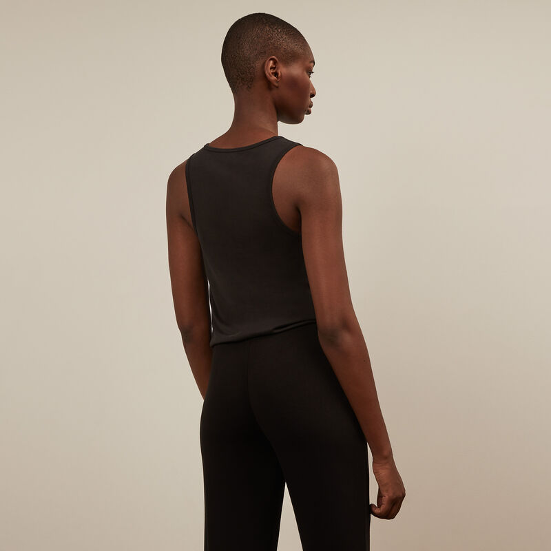 Sports trousers - black ;