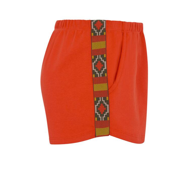 Оранжевые шорты bootyliz;