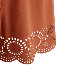 Suediniz camel-coloured shorts brown.