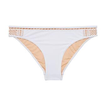 Hippiz off-white swimsuit bottoms white.