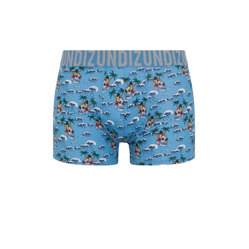 Islandiz microfibre boxers with print;