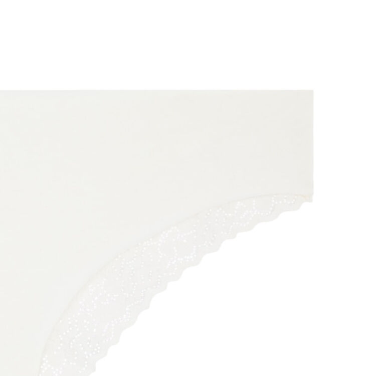 Бежевато-белые трусики-шорты clintangiz;