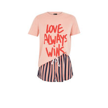 Розовый комплект lovewiniz black.