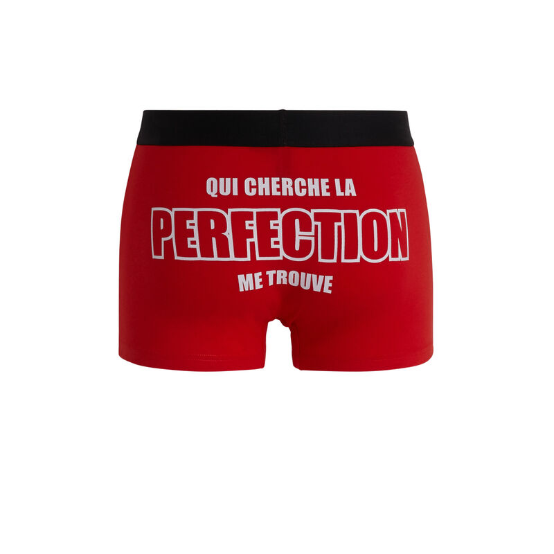 Uzpatchiz cotton boxers with slogan;