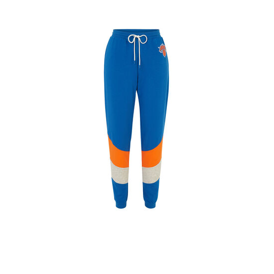 Newyorkniz blue jogging bottoms;