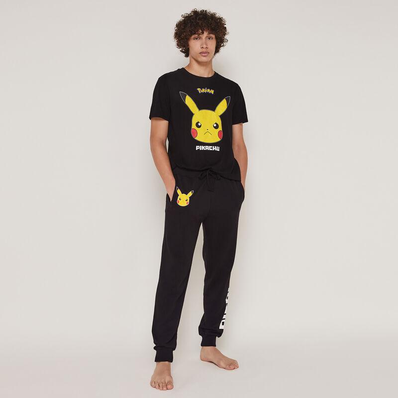 Pickabatiz Pikachu print pants;