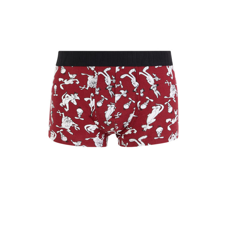 Looneviz Sylvester and Tweety print cotton boxers;