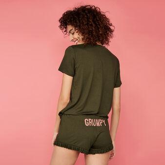 Short vert kaki engliengueliz green.
