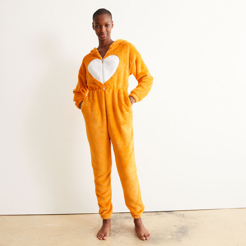 Corgi onesie - brown ;