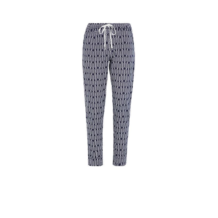 Brunaiz blue pants;