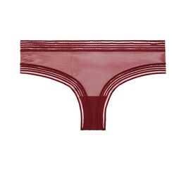 Wafiz burgundy hipsters  red.
