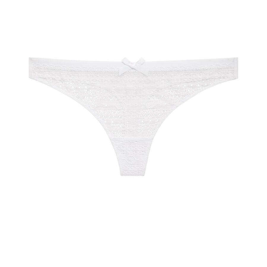 New voltiz white thong;