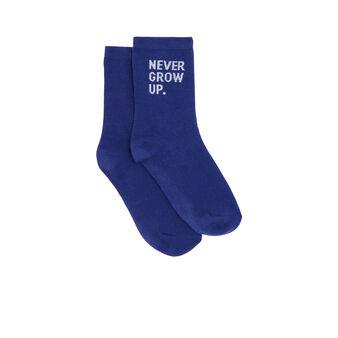 Синие носки nevergrowiz niebieski.