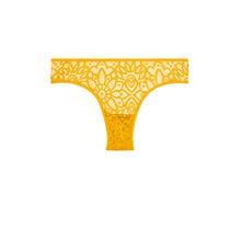American dreamiz yellow tanga yellow.