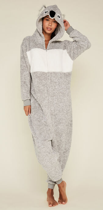 Thekoaliz grey jumpsuit grey.