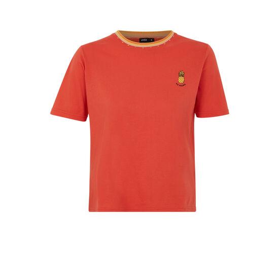 Loveiz orangey top;