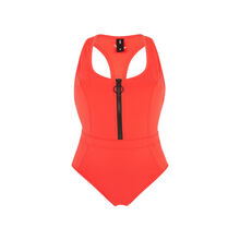 Superbodiz red workout swimsuit  red.