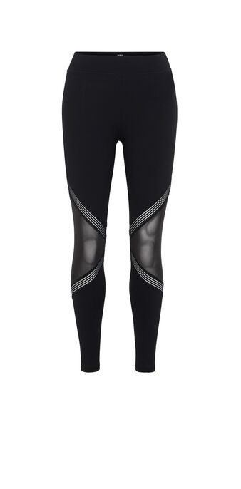 Punksportiz black leggings black.