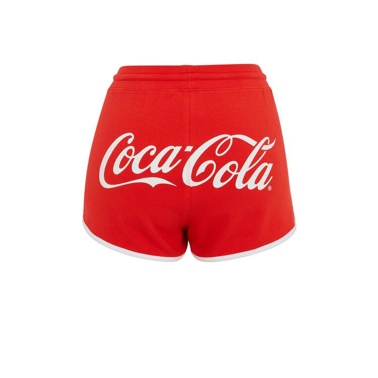 Красные шорты cocacoliz;