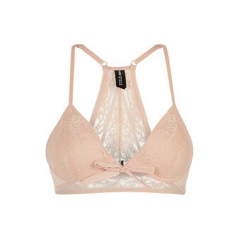 Lolliz pink figure-enhancing bra  pink.