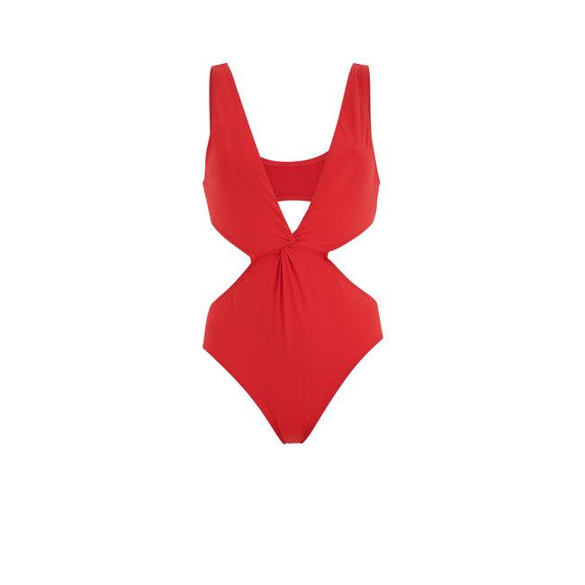 Красный слитный купальник tessaloniz;