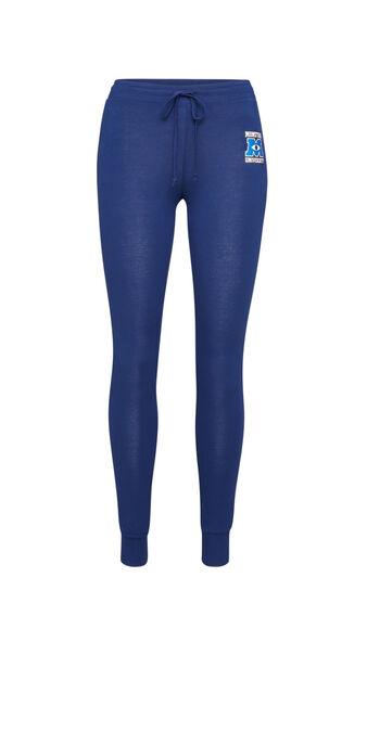 Umonstiz blue trousers blue.
