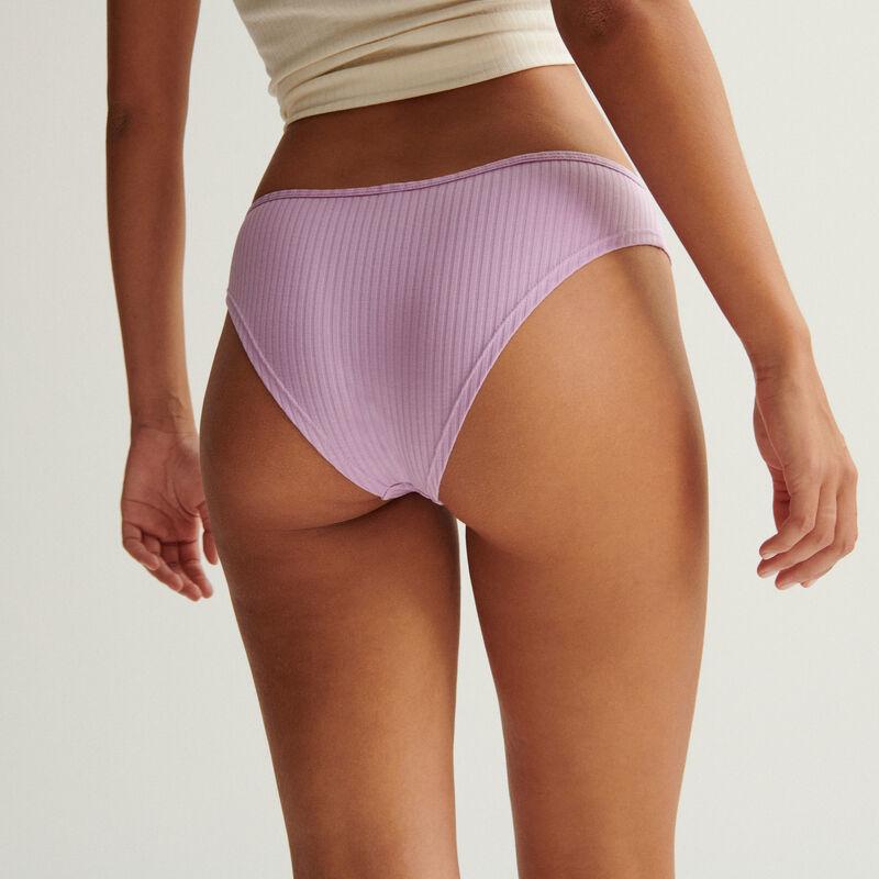 plain cotton briefs - lilac;