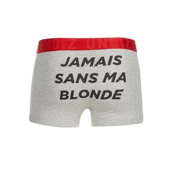 Yangiz light grey boxer shorts grey.