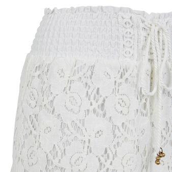 Бежевато-белые шорты shortiyiz white.