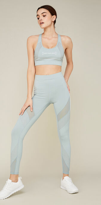 Bracupiz grey-blue sports bra blue.