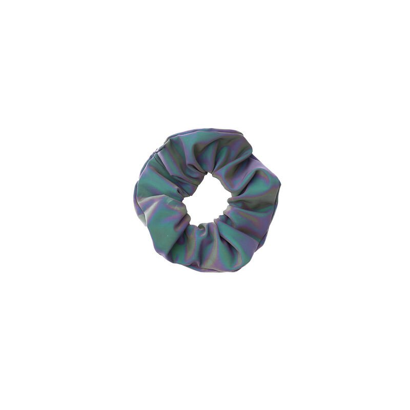 Reflective scrunchie - grey ;