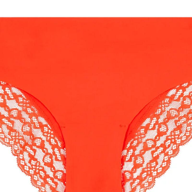 Shomiz orange boy shorts;