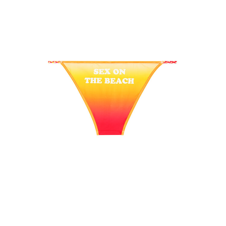 Cheekiniz yellow bikini briefs;
