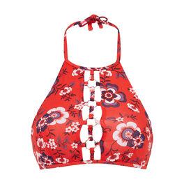 Tahimitiz red bra with underwire red.