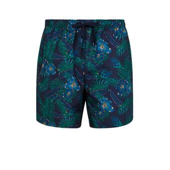 Tropinightiz navy blue swim shorts blue.