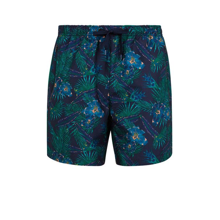 Tropinightiz navy blue swim shorts;