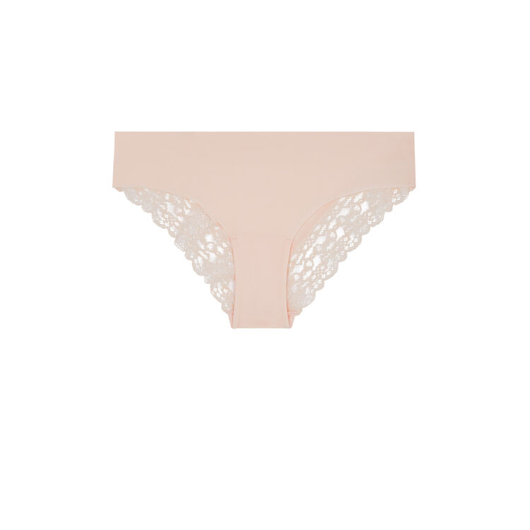 Shomiz pale pink boy shorts;