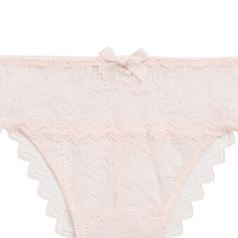 Basiciz pale pink tanga .