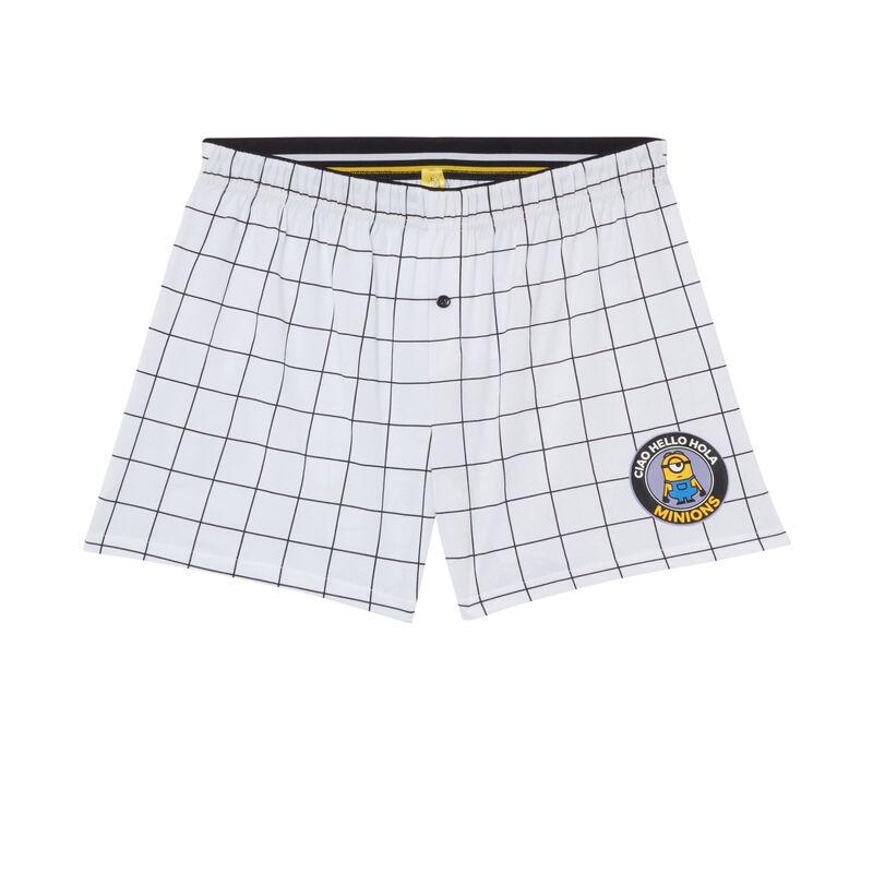 Minions printed boxers - white;