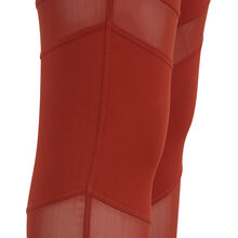 Macrasportiz brick-coloured leggings red.