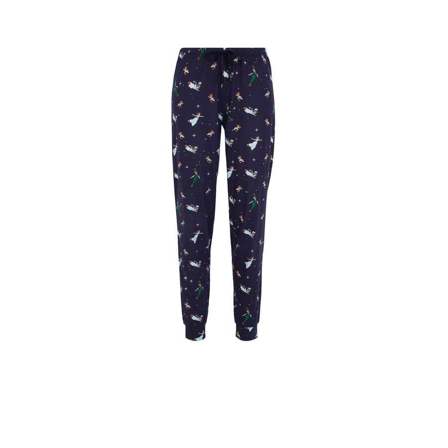Peterpaniz blue pants;