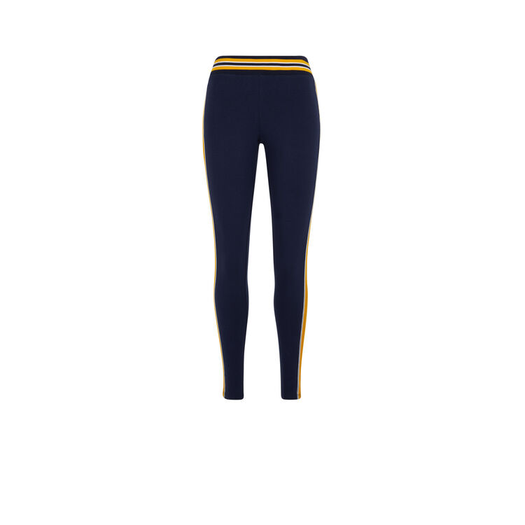 Cooleggiz jersey leggings with side bands;