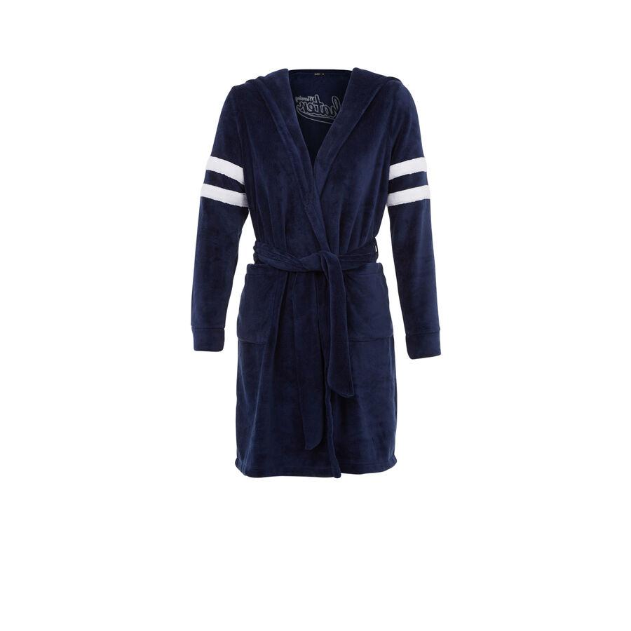 Englinaughtyiz blue robe;