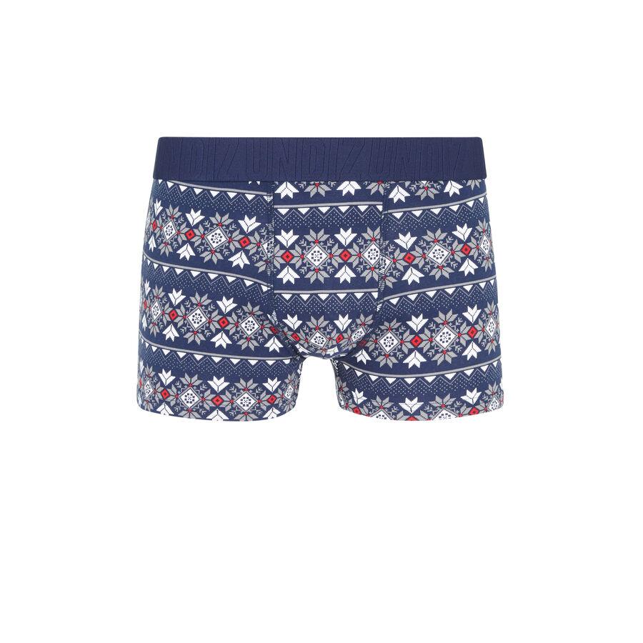 Mireliz blue boxers;