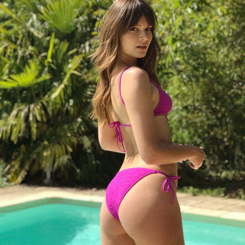 Bikini bottoms - fuchsia pink;