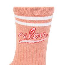 Teamblondiz pink socks pink.